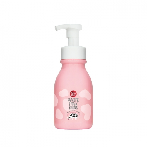 Body Shower Mousse 350ml Cathy Doll White Milk Shine อาบน้ำฟองนม