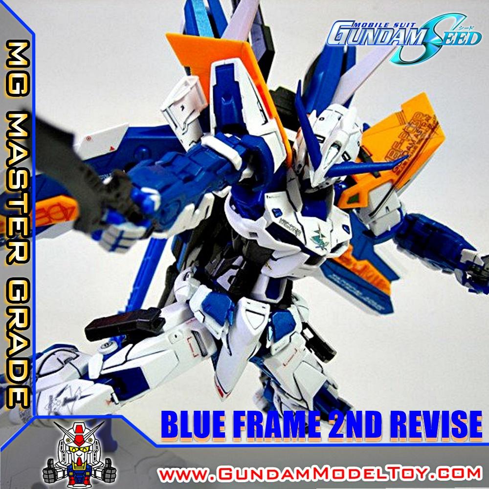 MG 1/100 GUNDAM ASTRAY BLUE FRAME 2nd REVISE กันดั้ม แอสเทรย์ บลู เฟรม 2nd รีไวส์