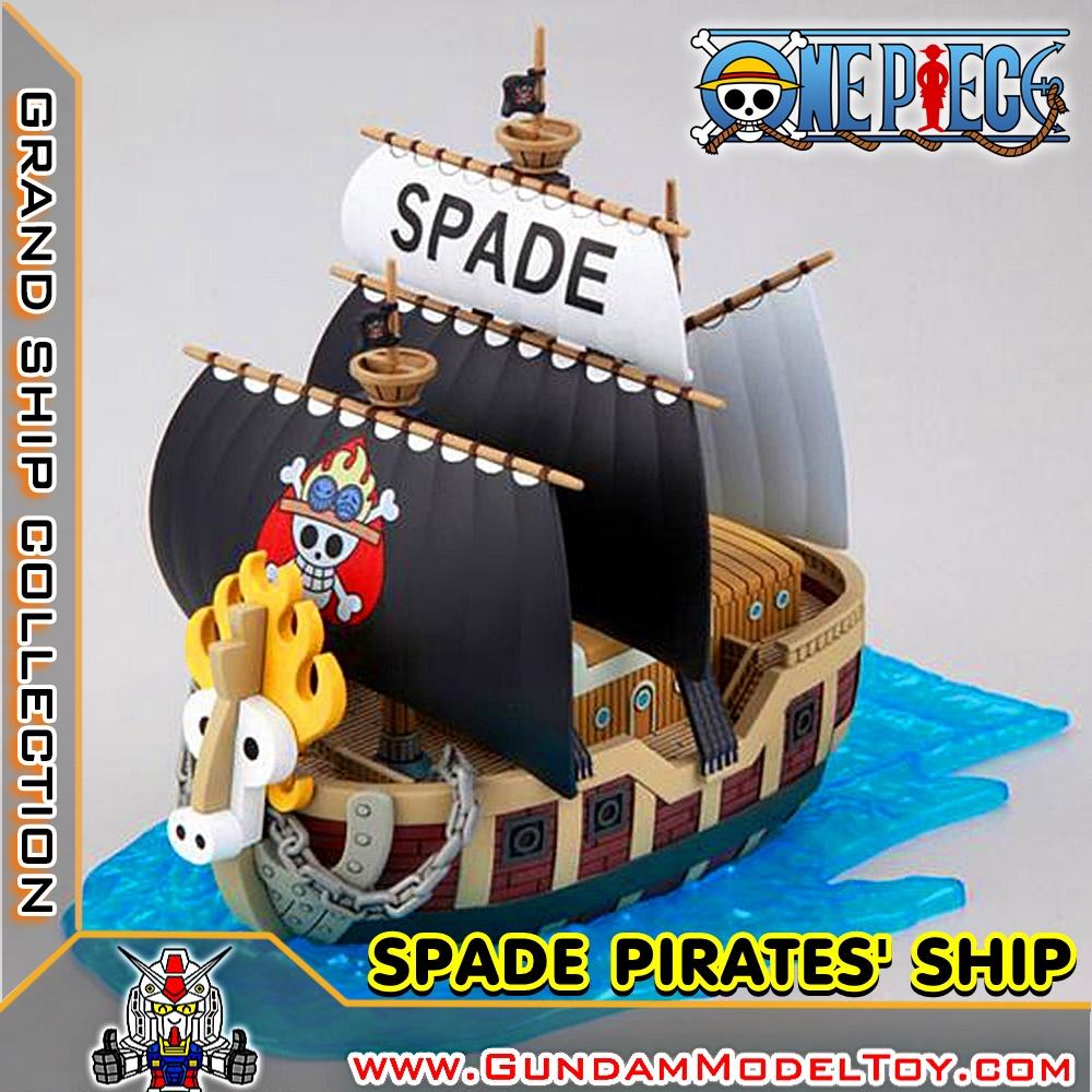 GRAND SHIP COLLECTION SPADE PIRATE'S SHIP สเปด ไพเรท ชิพ