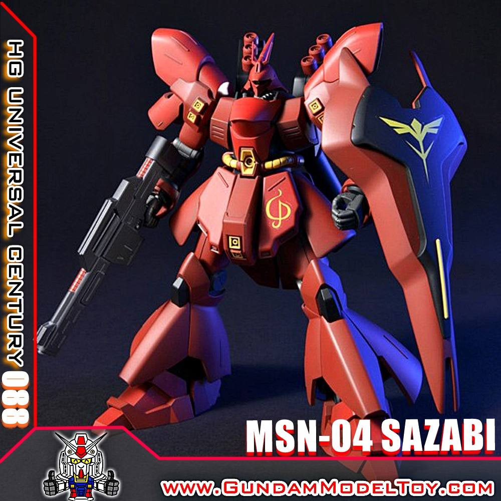 HG 1/144 SAZABI ซาซาบิ