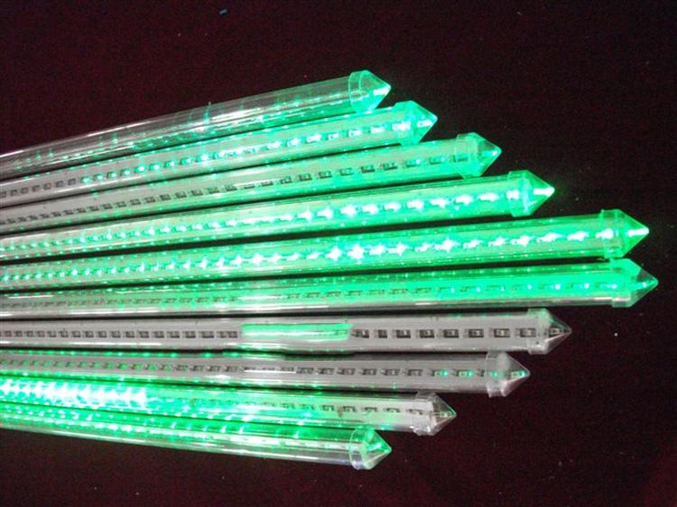 ไฟดาวตกLED 80 ซ.ม. (หน้าเดียว) สีเขียว
