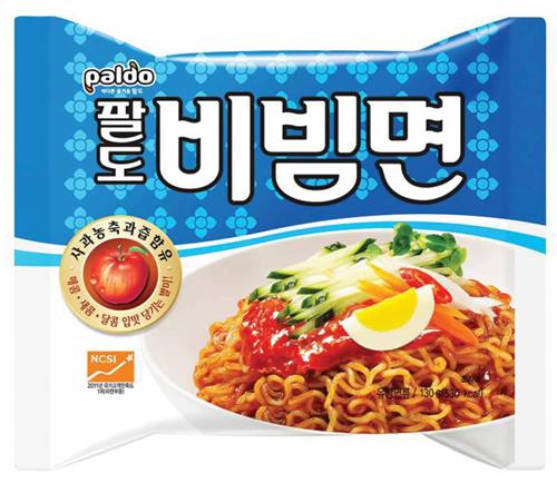 Pre-order บะหมี่กึ่งสำเร็จรูป/รามยอน Paldo 20 ซอง 130g รสข้าวยำเกาหลี