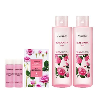 Pre-order Mamonde Rose Water Toner 250 ml โทนเนอร์น้ำกุหลาบซื้อ 1 แถม 1
