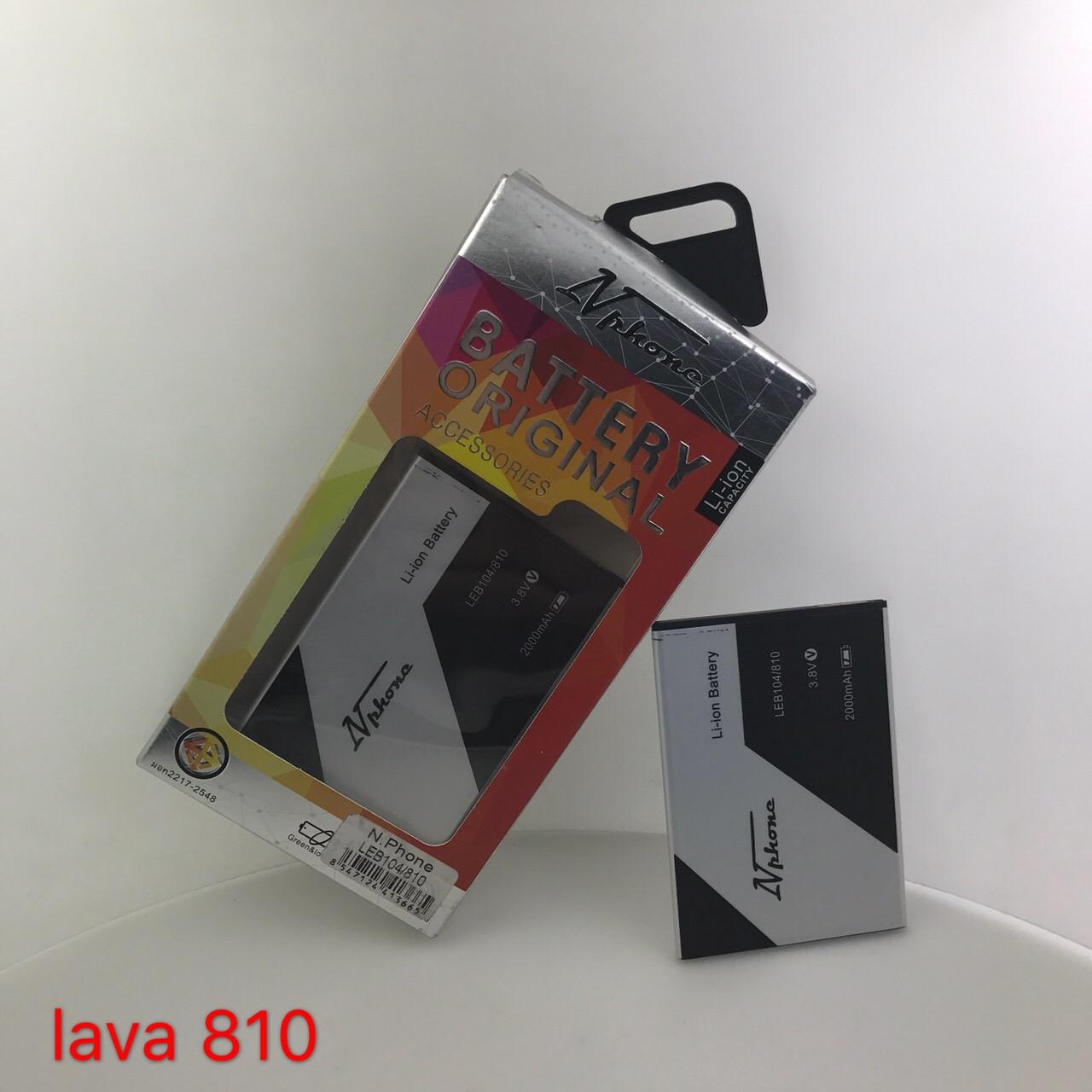 แบตเตอรี่ Lava 810 // LEB-104