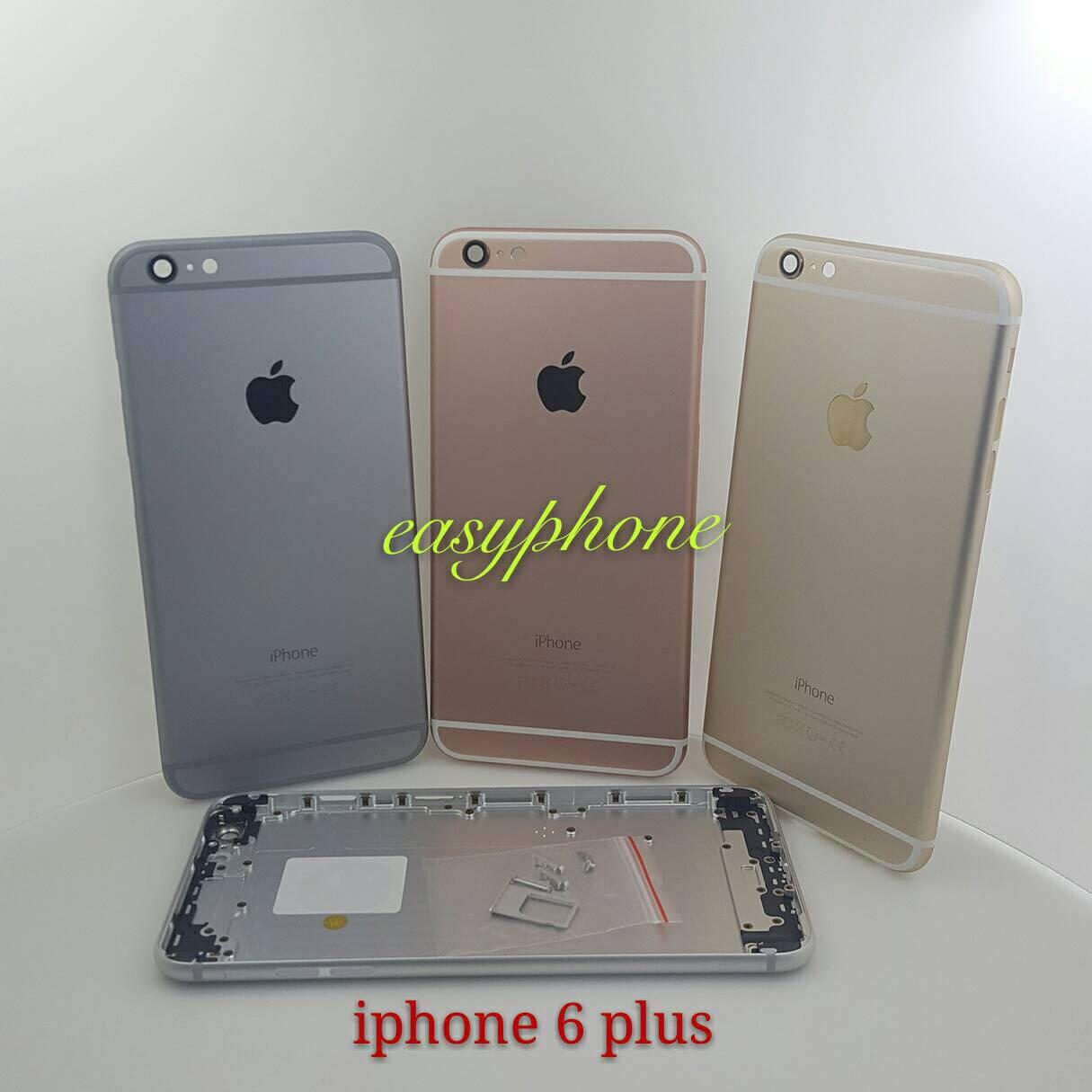 ฝาหลัง iPhone 6 Plus ของแท้ // สีดำ / สีขาว / สีทอง / สีชมพู