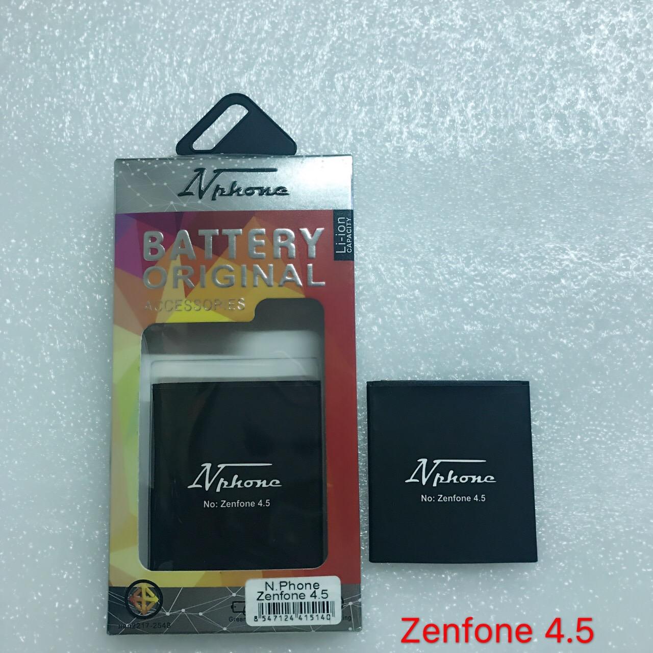 แบตเตอร์รี่ งานบริษัท ( มี มอก ไส้เต็ม ) Asus Zenfone 4.5