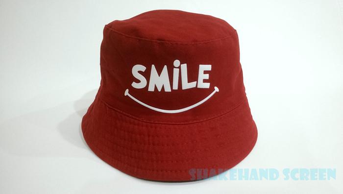 สกรีนหมวก ออกแบบเอง