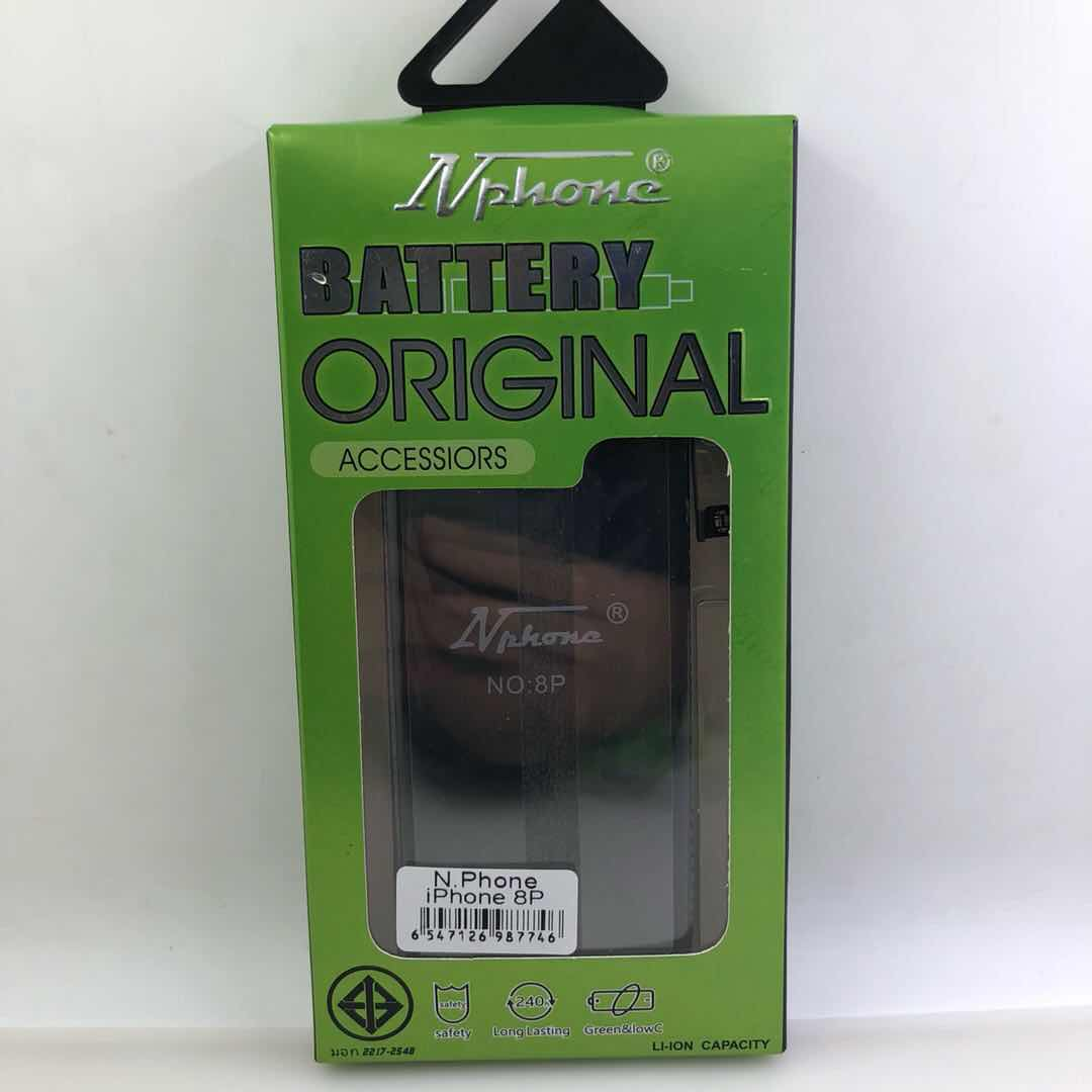 แบตเตอรี่ มอก. N Phone iPhone 8plus