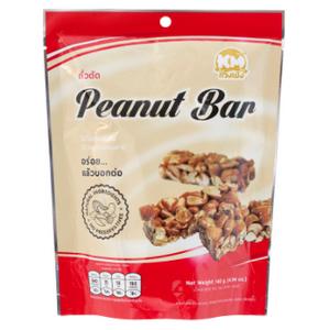 ถั่วตัด กวงเม้ง Peanut Bar กรอบหวานมัน กลมกล่อม ขนมของว่างอร่อยลงตัว