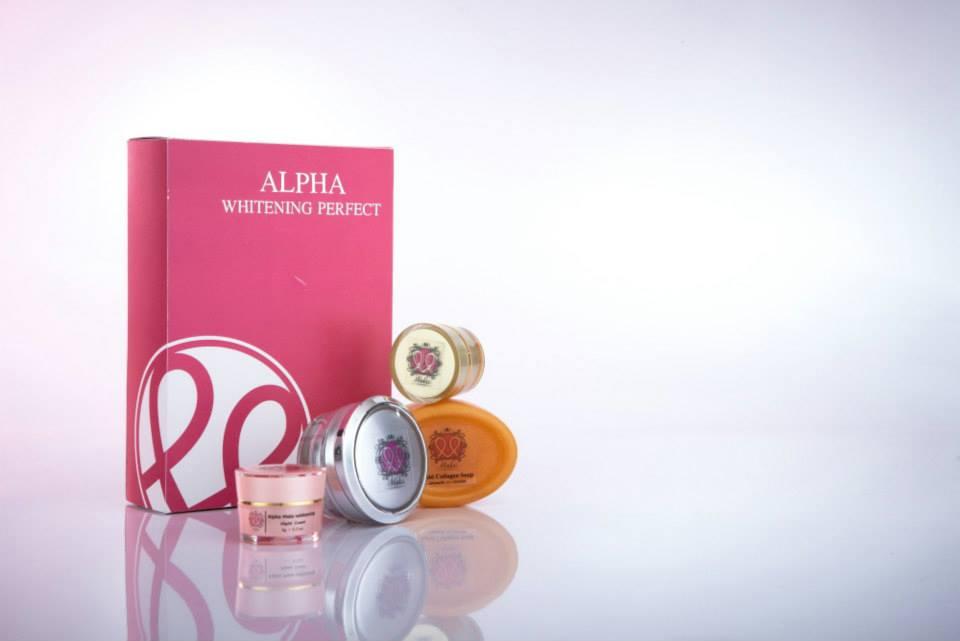 Makii Miracle ครีมมาร์กี้มิราเคิล ชุดอัลฟ่าไวท์ Alpha White Perfect Set สำหรับผิวแห้ง ลดเลือนริ้วรอย แก้ฝ้ากระ ขนาด 6 กรัม