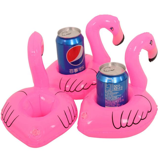 Flamingo Holder 2ชิ้น ห่วงยางแฟนซี