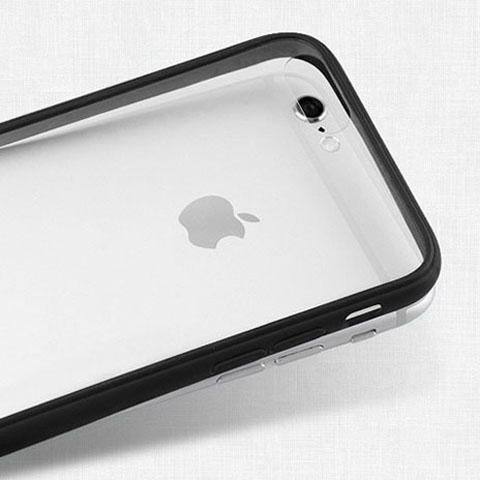 ขอบยาง ด้านหลังแข็ง ใส - เคส iPhone 7 Plus