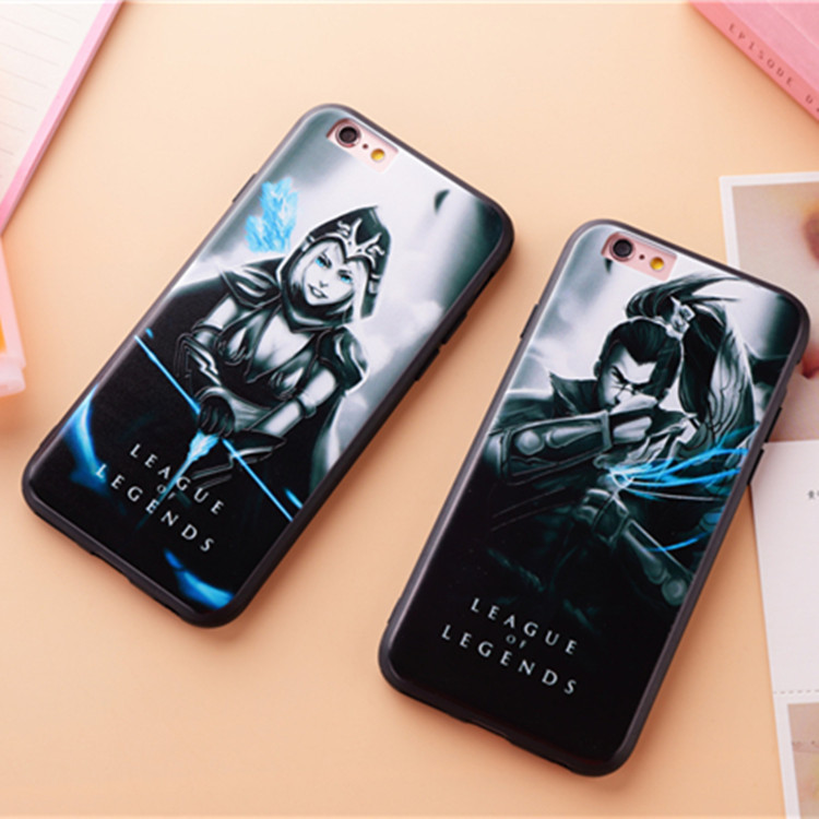 ขอบยาง League of Legends - เคส iPhone 6 Plus / 6S Plus