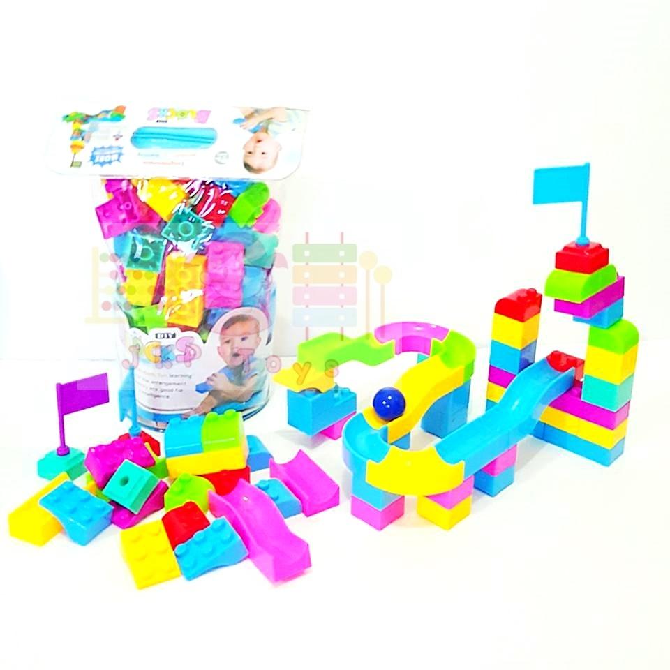 JKP Toys ของเล่นเสริมพัฒนาการ DIY บล็อค 68 ชิ้น