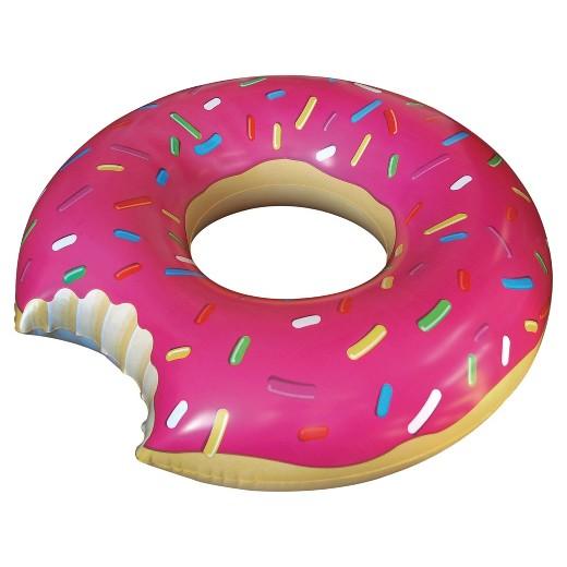 ห่วงยางแฟนซี โดนัทชมพู Pink Donut 120cm