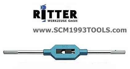 Ritter ริตเตอร์ ด้ามต๊าปตัวผู้ เยอรมัน No.2 (4-12 mm.) TAP WRENCH