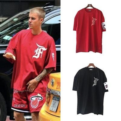 เสื้อยืดแขนสั้น Justin Bieber ทรงหลวม มี3สี