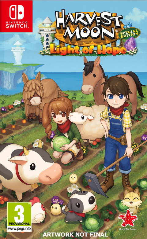 Nintendo Switch HARVEST MOON: LIGHT OF HOPE