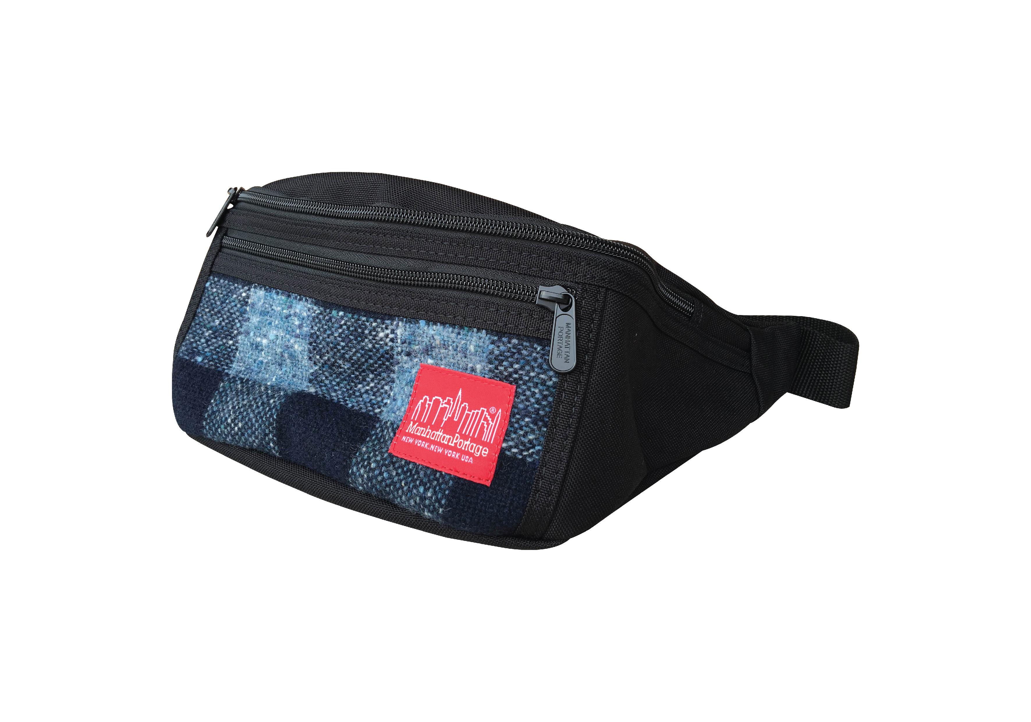 กระเป๋าคาดเอว Manhattan รุ่น MP 1101-WLR WOOLRICH ALLEYCAT - NVY-CHECK