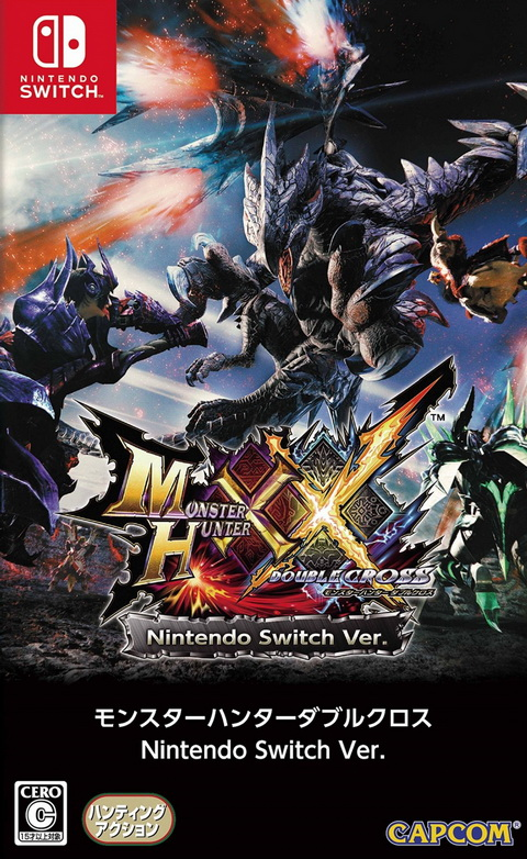 Switch- Monster Hunter XX: Double Cross