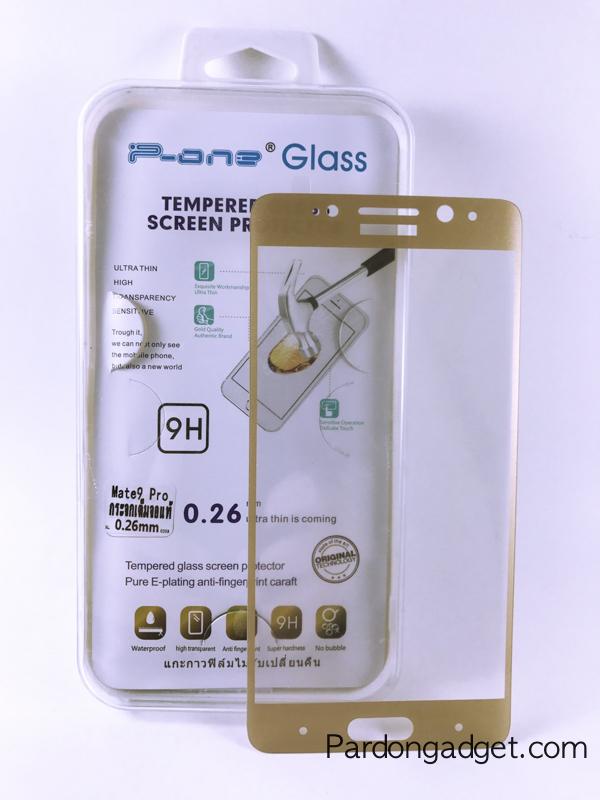 ฟิล์มกระจกเต็มจอ Huawei Mate 9 Pro สีทอง