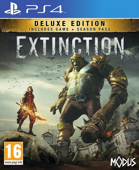 PS4- Extinction Deluxe Edition