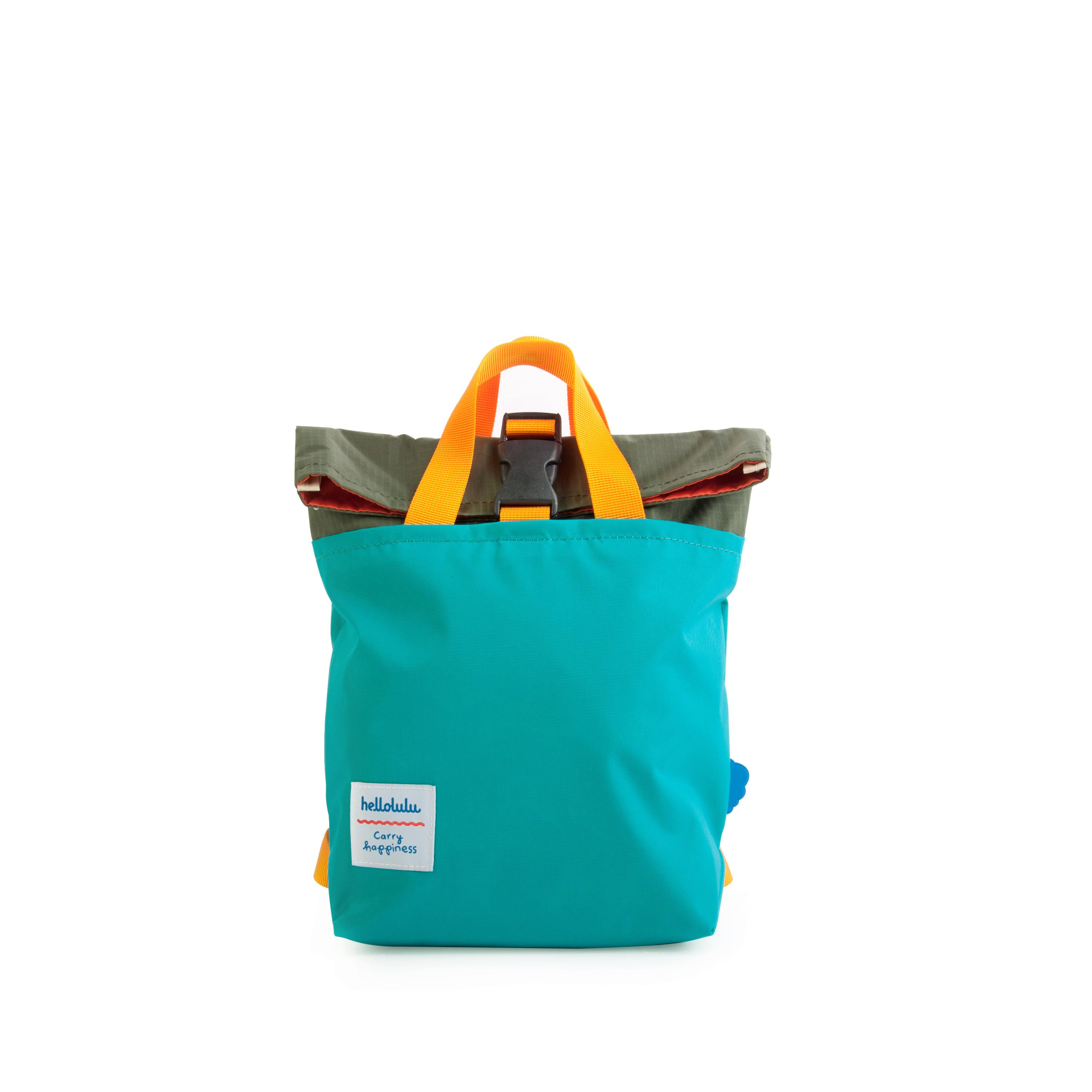 Hellolulu กระเป๋าเด็ก รุ่น JAZPER - Olive/Lake Green