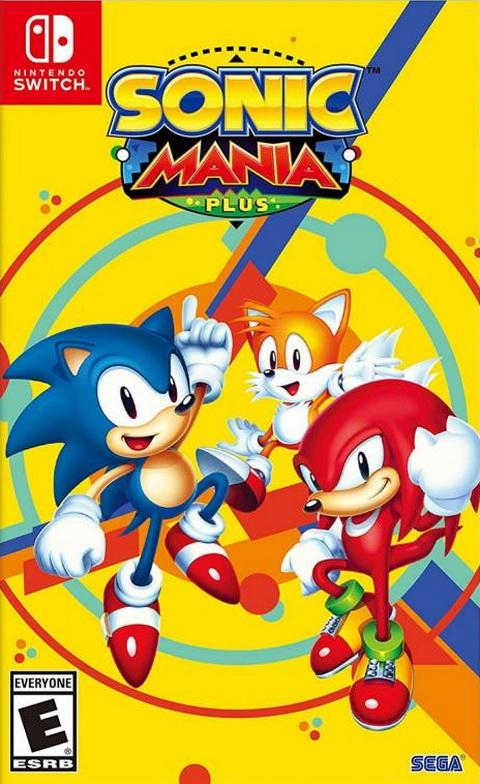 Switch- Sonic Mania Plus