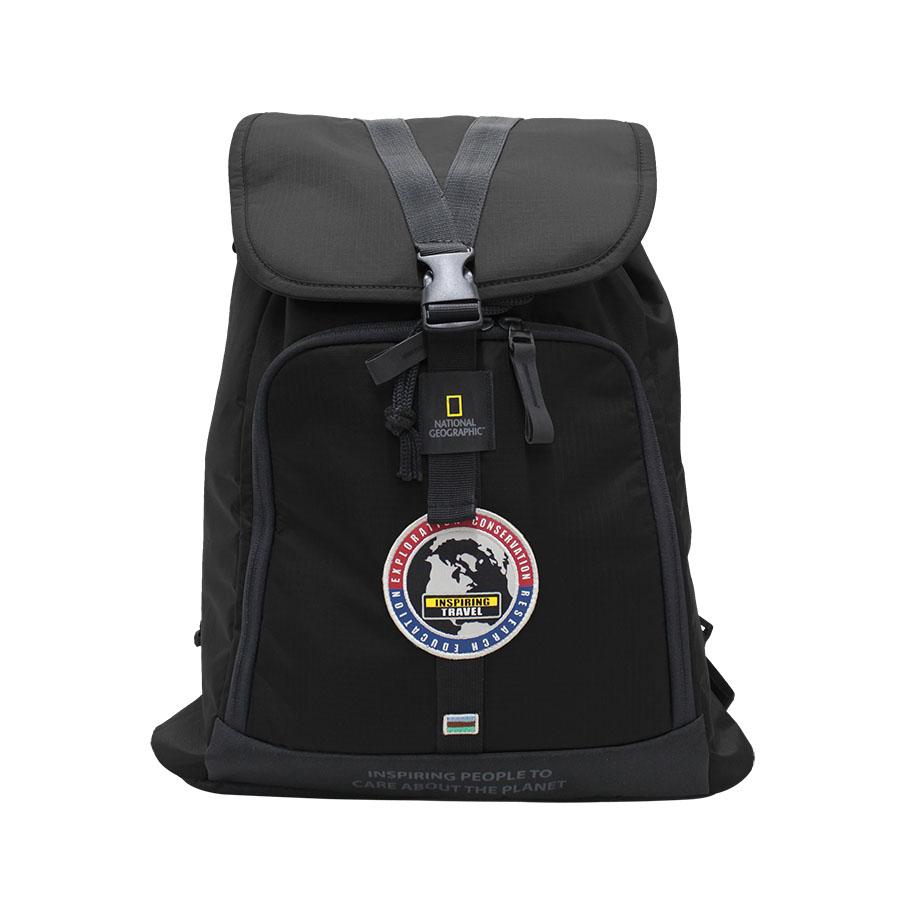 National Geographic Backpack - EXPLORER - Black สีดำ
