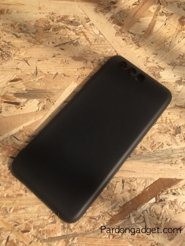 เคส Huawei P10 Tpuนิ่ม สีดำ