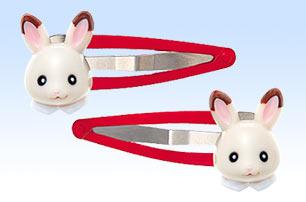 [หมดค่ะ] กิ๊ปติดผมกระต่ายซิลวาเนียน (Sylvanian Familily Chocolate Rabbit Hair Clip)