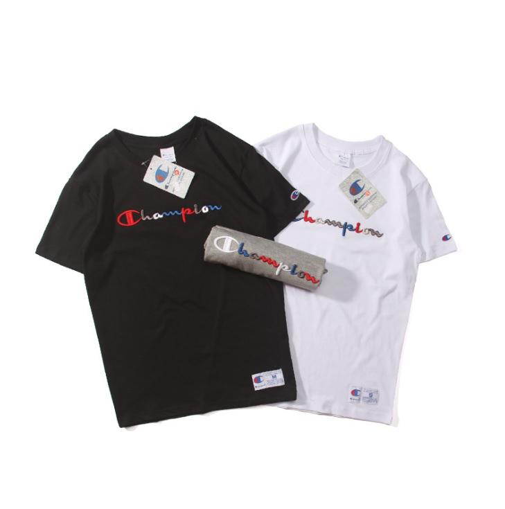 เสื้อ Champion T-Shirt Logo Embroidered
