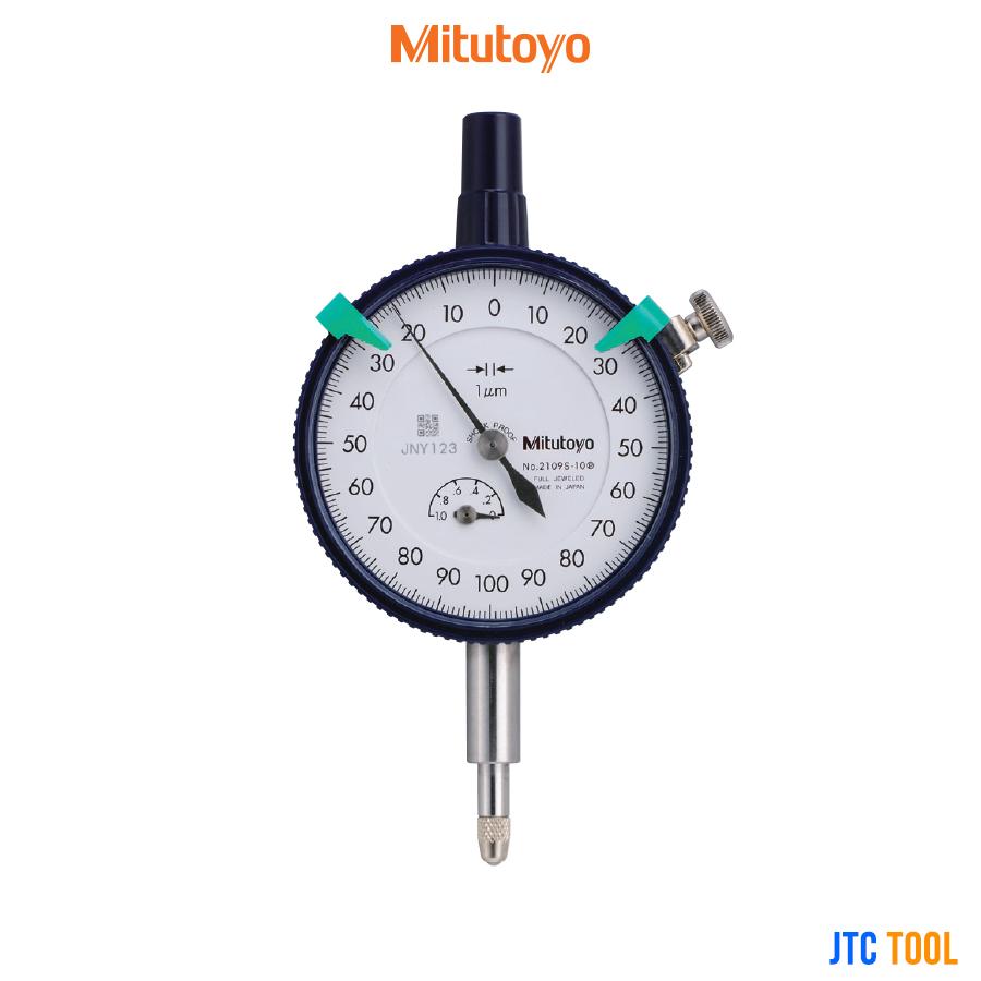ไดอัลเกจวัดความเรียบพื้นผิว - Dial Indicators Standard Type (2109S-10) Mitutoyo