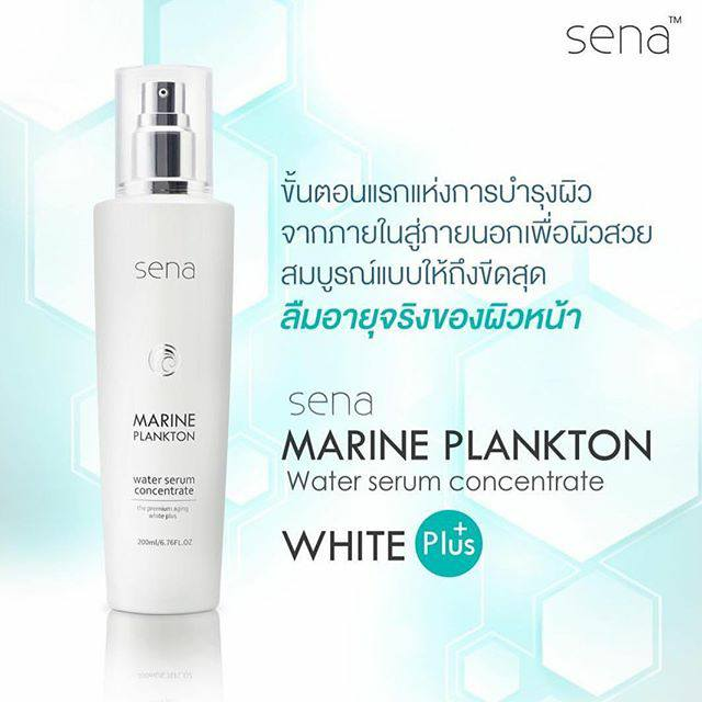 Sena Marine Plankton Water Serum Concentrate น้ำตบเซน่า