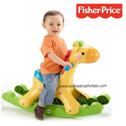 ยีราฟโยก Fisher-Price Rockin' Tunes Activity Centre, Giraffe