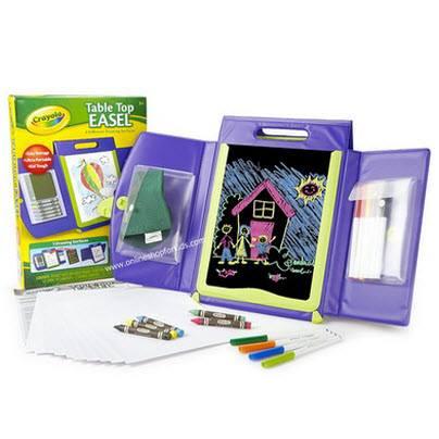 ชุดระบายสี แบบพกพา Crayola Tabletop Easel