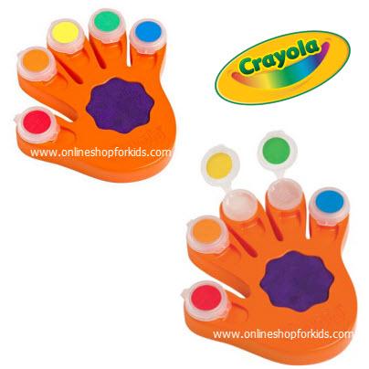 ชุดสีน้ำ พร้อมถาด Crayola Color Wonder, Fingerpaints & Paper