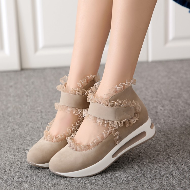 &#x2764 Preorder &#x2764 รองเท้าแฟชั่น สไตล์เกาหลี 34-39 รหัส 9DA-1417