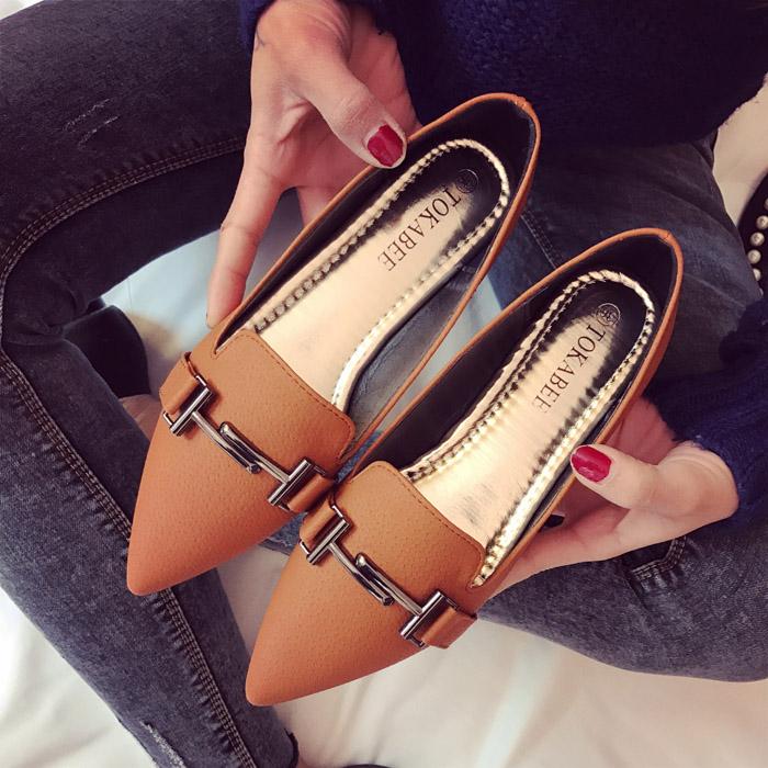Preorder รองเท้าแฟชั่น สไตล์เกาหลี 35-41 รหัส GB-3411
