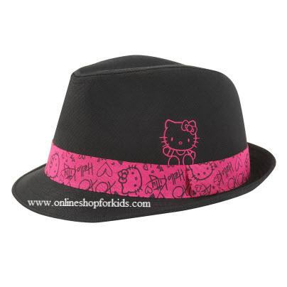 หมวก Hello Kitty Fedora, Black