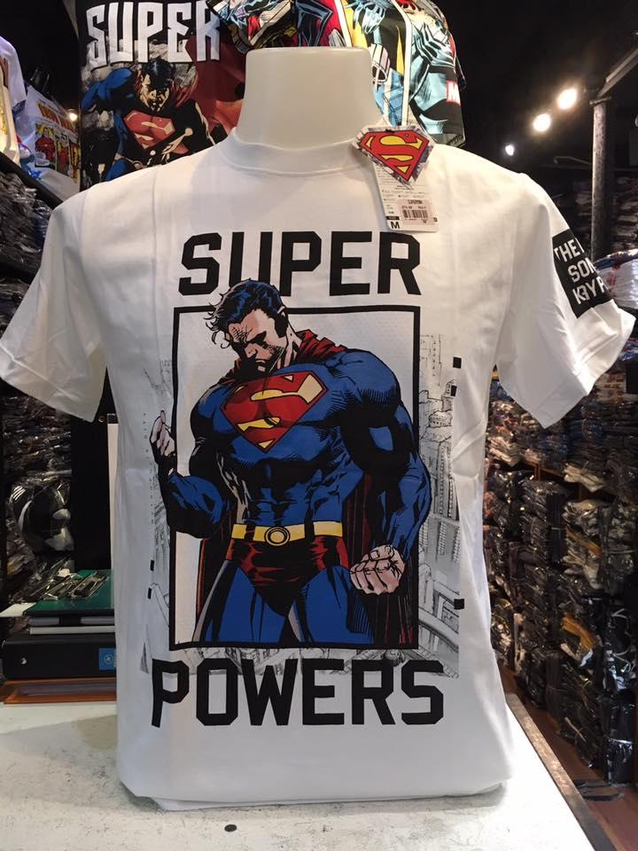 ซุปเปอร์แมน สีขาว (Superman stand powers)