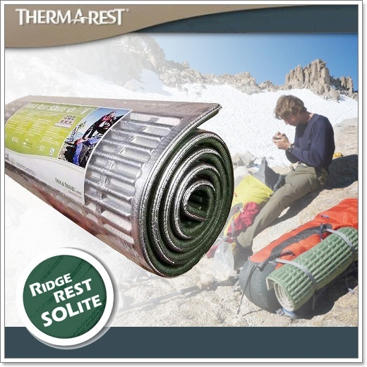 แผ่นรองนอน Thermarest Ridge-Rest-Classic#Regular