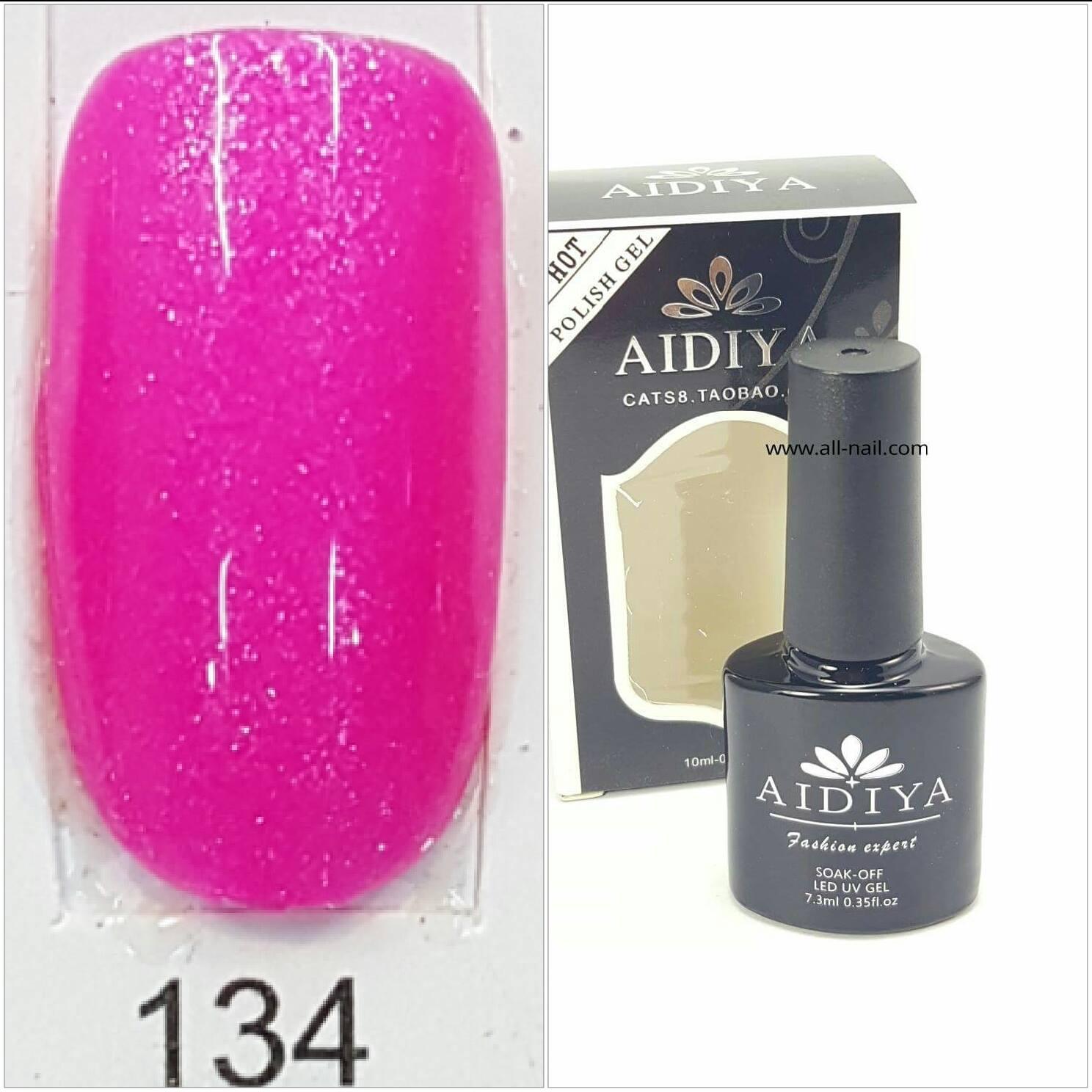 สีเจลทาเล็บ AIDIYA #134