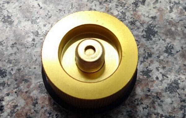 GAS Adapter (ตัวแปลงหัวต่อเตาแก๊สสนามให้ใช้กับแก๊สกระป๋องยาว)
