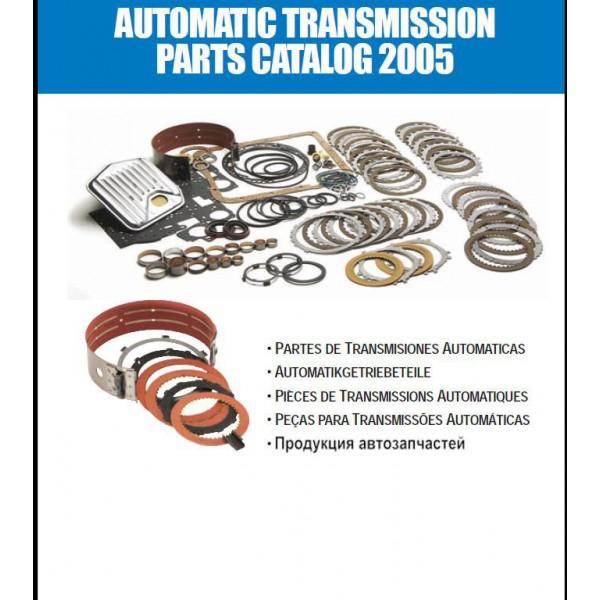 คู่มือซ่อมรถยนต์ PART CATALOG AUTOMATIC TRANSMISSION 2005 (EN