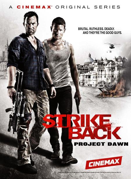 Strike Back Season 2 Project Dawn (2011) / สองพยัคฆ์สายลับข้ามโลก ปี 2 / 4 แผ่น DVD (บรรยายไทย)