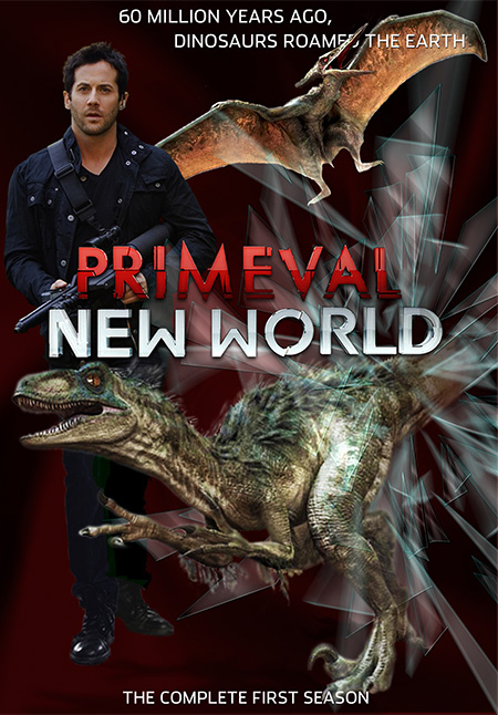 Primeval: New World / ไดโนเสาร์ทะลุโลกพิศวง / 4 แผ่น DVD (พากย์ไทย+บรรยายไทย)
