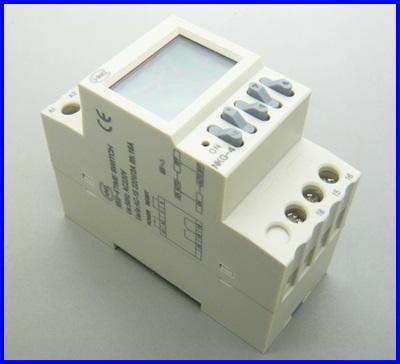 เครื่องตั้งเวลาดิจิตอล ตัวตั้งเวลา มีแบตเตอรี่ ในตัว On/ Off Programmable Electronic Timer 16A 220V