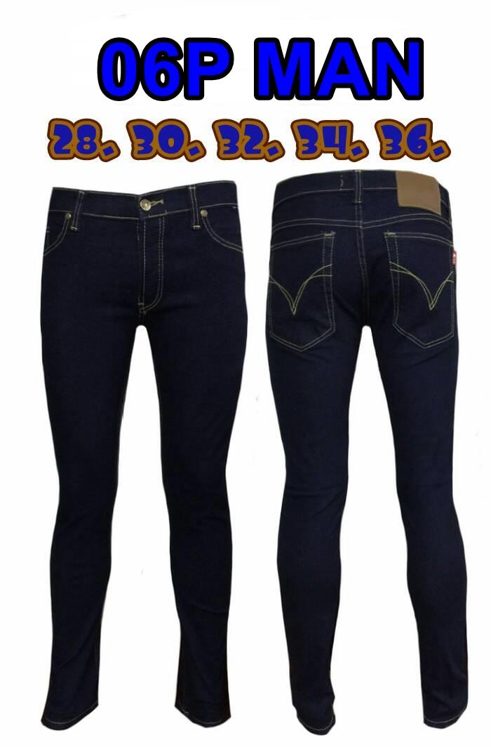กางเกงยีนส์ขาเดฟผู้ชาย ซิป ยีนส์ยืด สีกรม มี SIZE 32,36