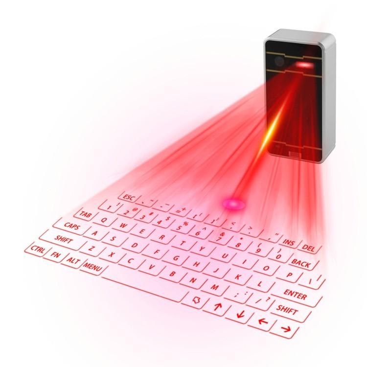 คีย์บอร์ดเลเซอร์แบบพกพา Keyboard Laser